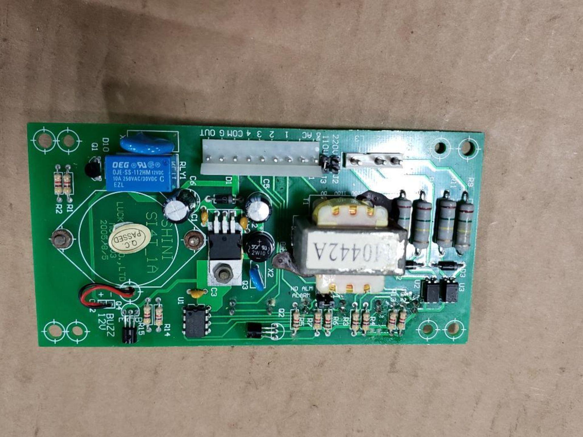 Qty 3 - Shini Si4T-1A control board. - Image 10 of 11