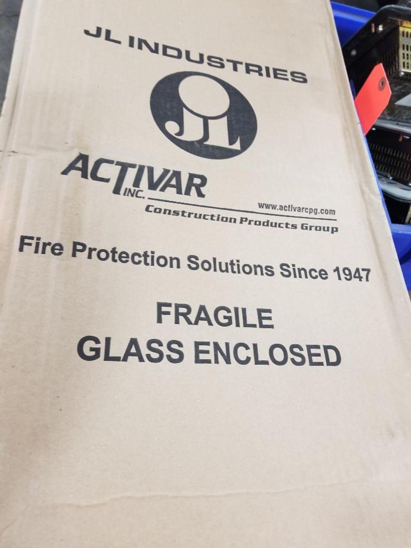 JL Industries C1037V10FX Metal extinguisher cabinet. - Image 3 of 5