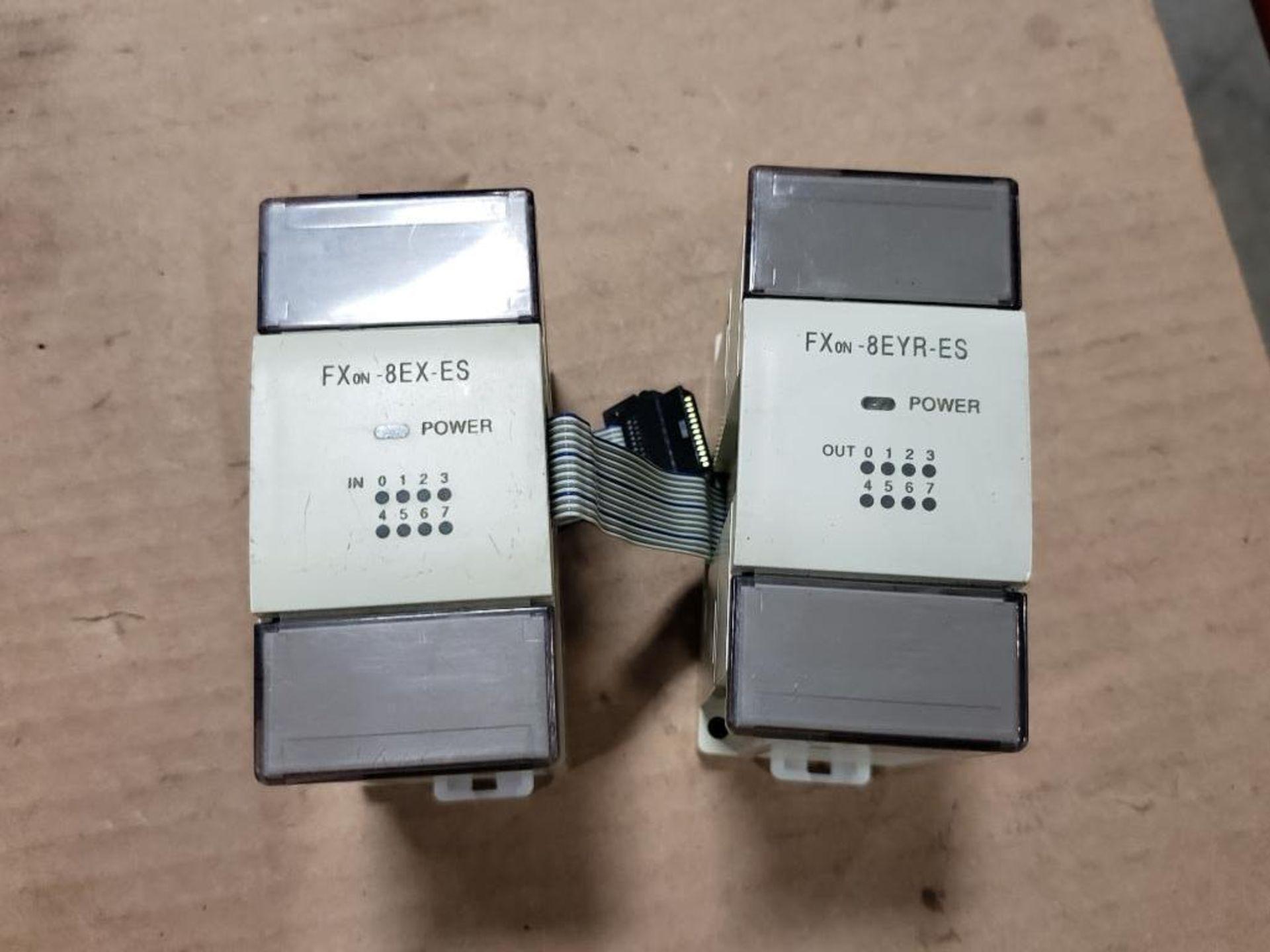 Assorted Mitsubishi electrical. MELSEC FXon-60MR0DS, FXon-8EYR-ES. - Image 6 of 10