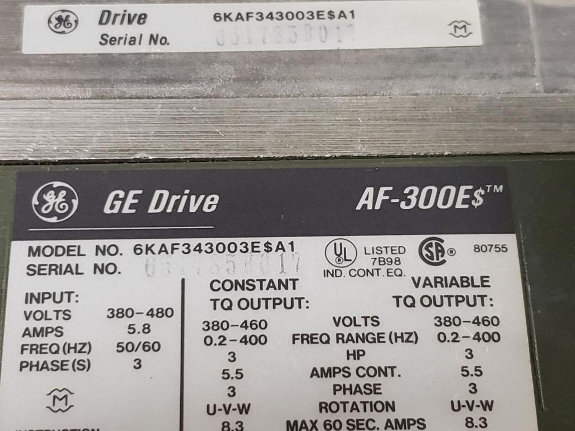 GE AF-300E$ Drive. 6KAF343003E$A1. - Image 5 of 6