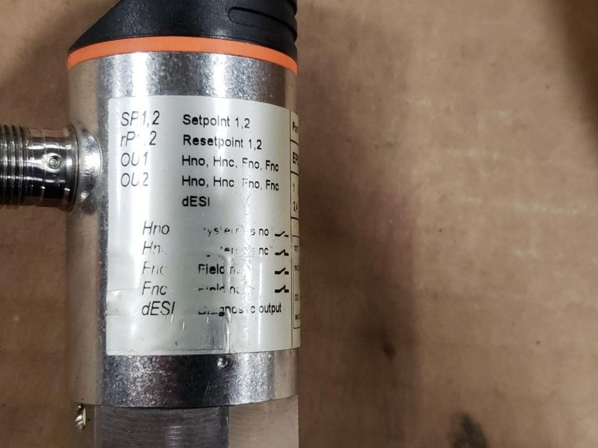 Qty 2 - IFM PN7004 Pressure switch sensor. - Image 2 of 6