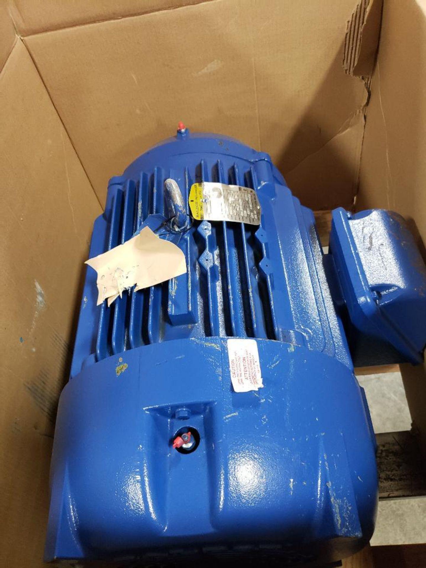 30HP Baldor Reliance 3PH motor. 2013000110. 575V, 3520RPM, 286TSC-Frame. - Image 2 of 12