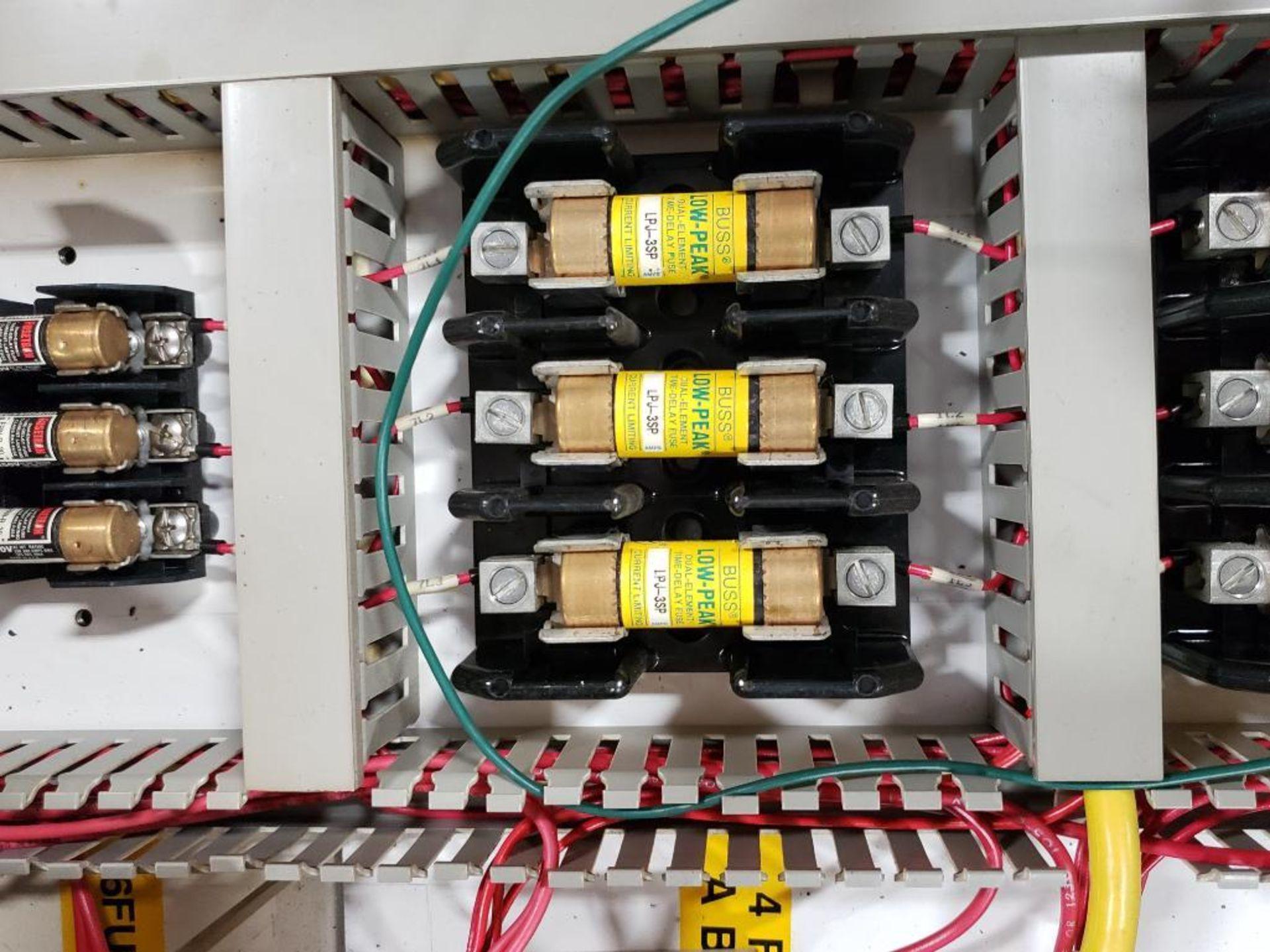Chiller control cabinet. Hoffman enclosure, Cutler Hammer AF93AG0B007D drive, Allen Bradley drive. - Image 30 of 35