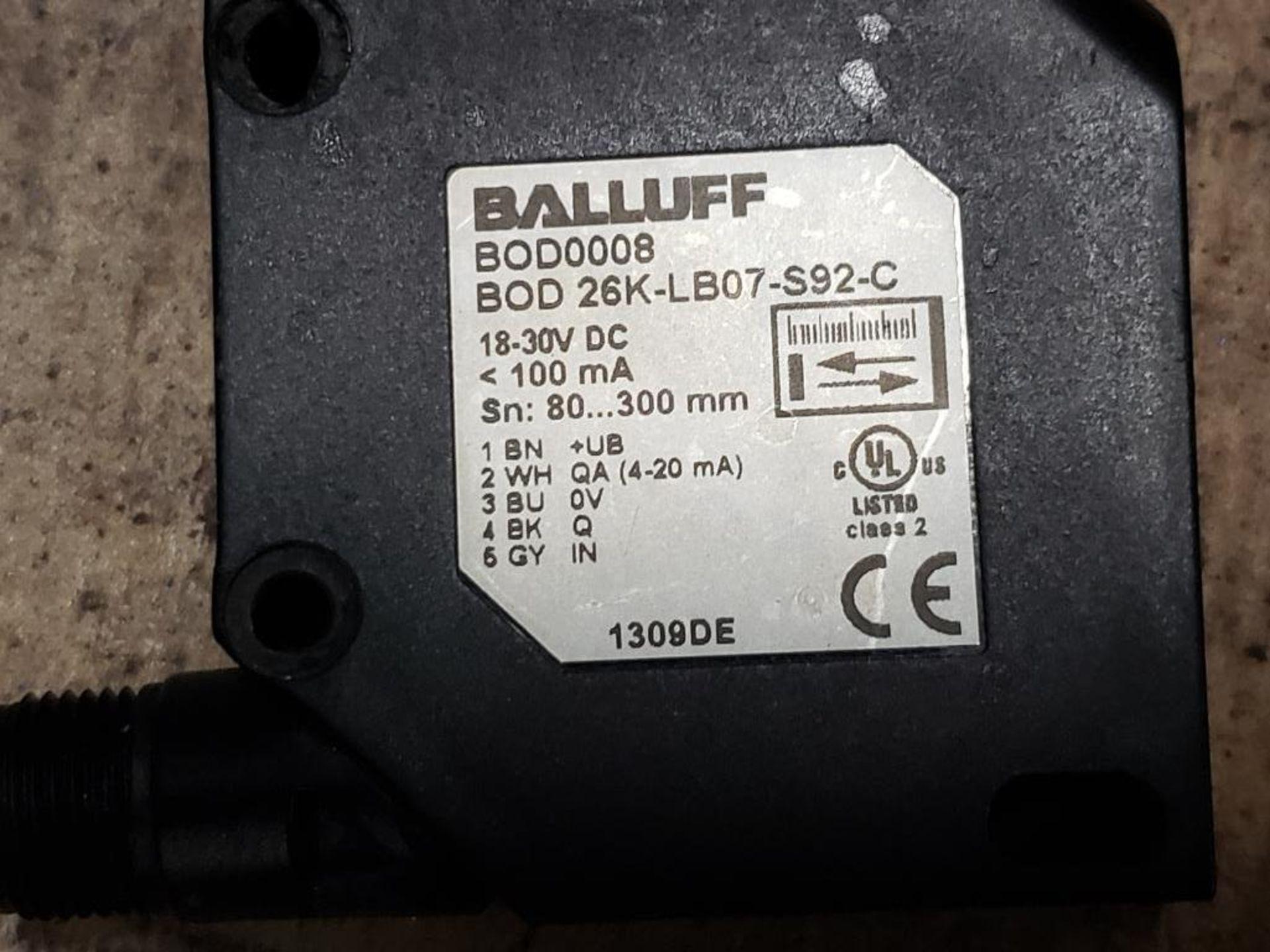 Qty 3 - Balluff BOD0008 BOD 26K-LB07-S92-C Sensor. - Image 10 of 10