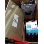 Assorted electrical power supply. Condor, PerkinElmer, Automation Direct.