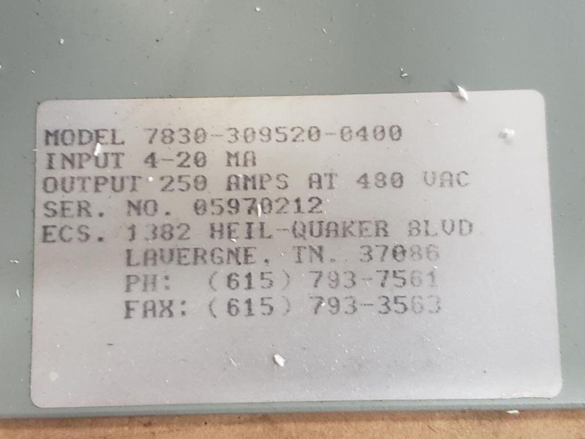 Chromalox 7830-309520-0400 power pak controller. - Image 2 of 10