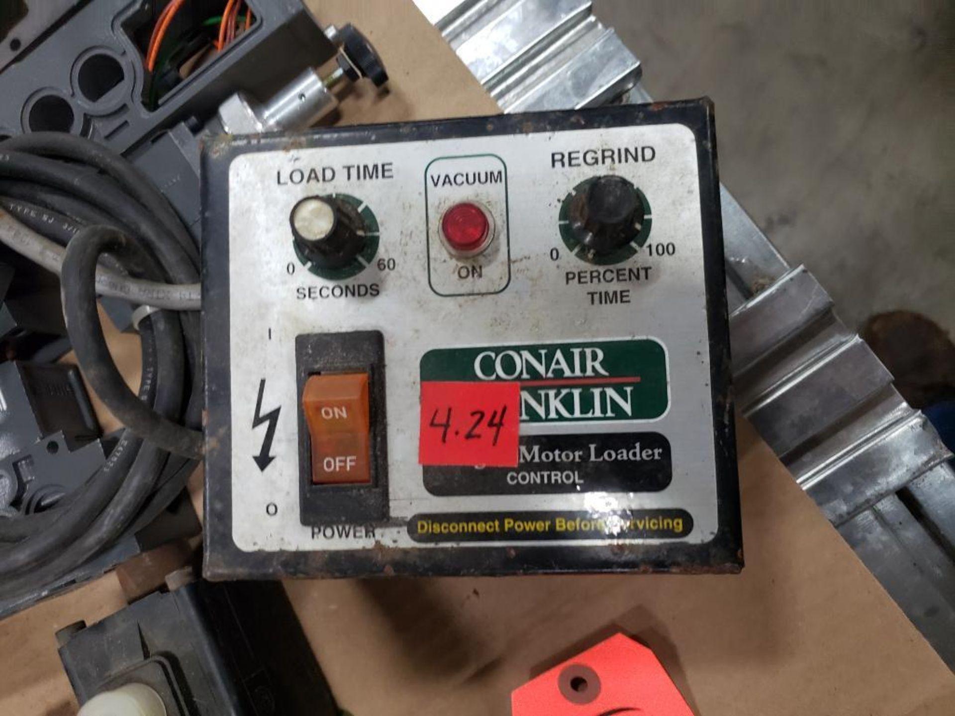 Pallet of assorted parts. Emergency eyewash, Conair universal terminal box, Hydraulik Ring valve. - Image 4 of 14