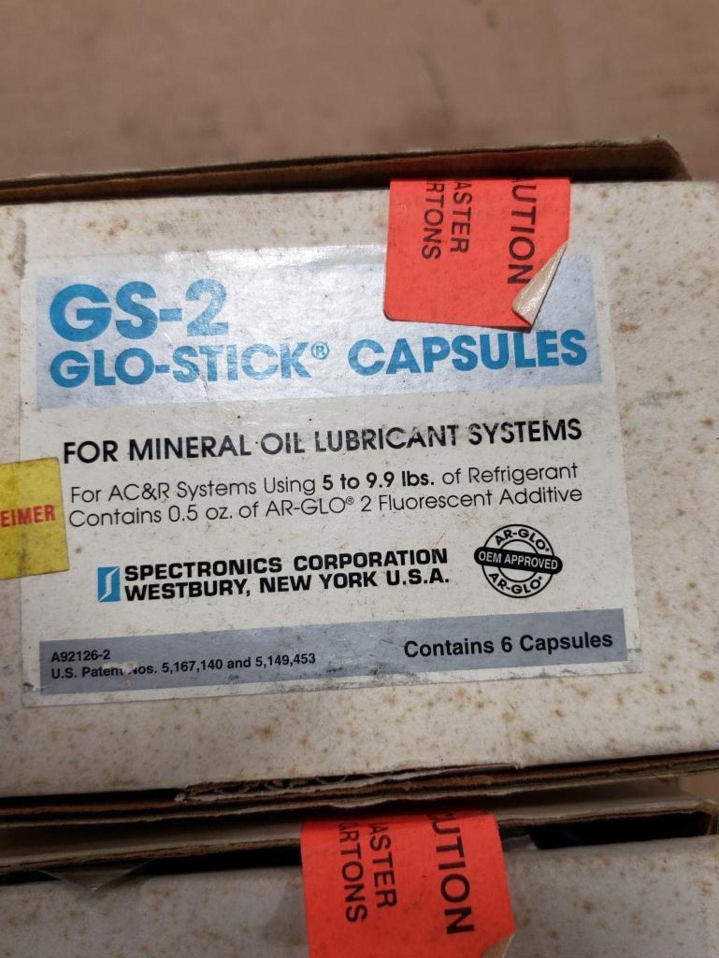 Qty 2 - Spectronics Corp GS-2 Glo-Stick Capsules. - Image 3 of 5