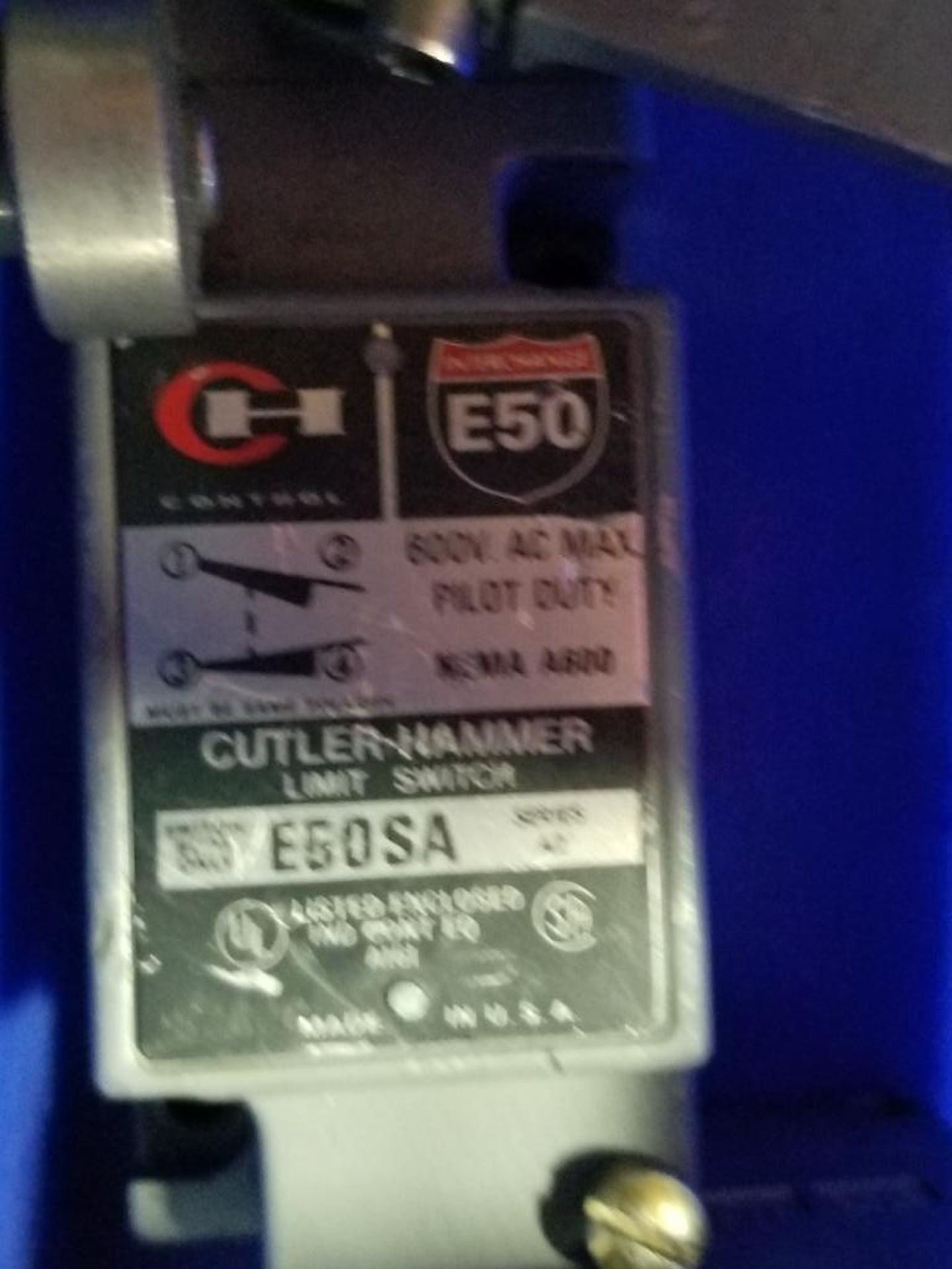 Assorted electrical limit switches. Cutler Hammer. - Image 7 of 9