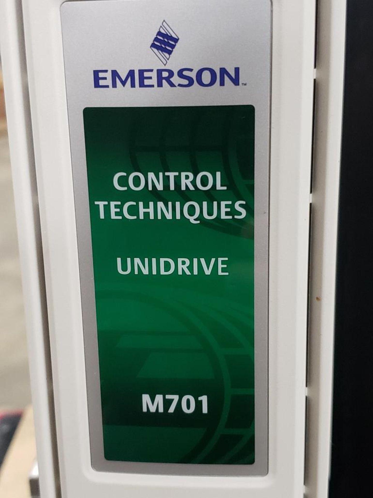 Travel test diagnostic Emerson drive unit. Emerson control Techniques DCM700. Unidrive M701. - Image 8 of 21