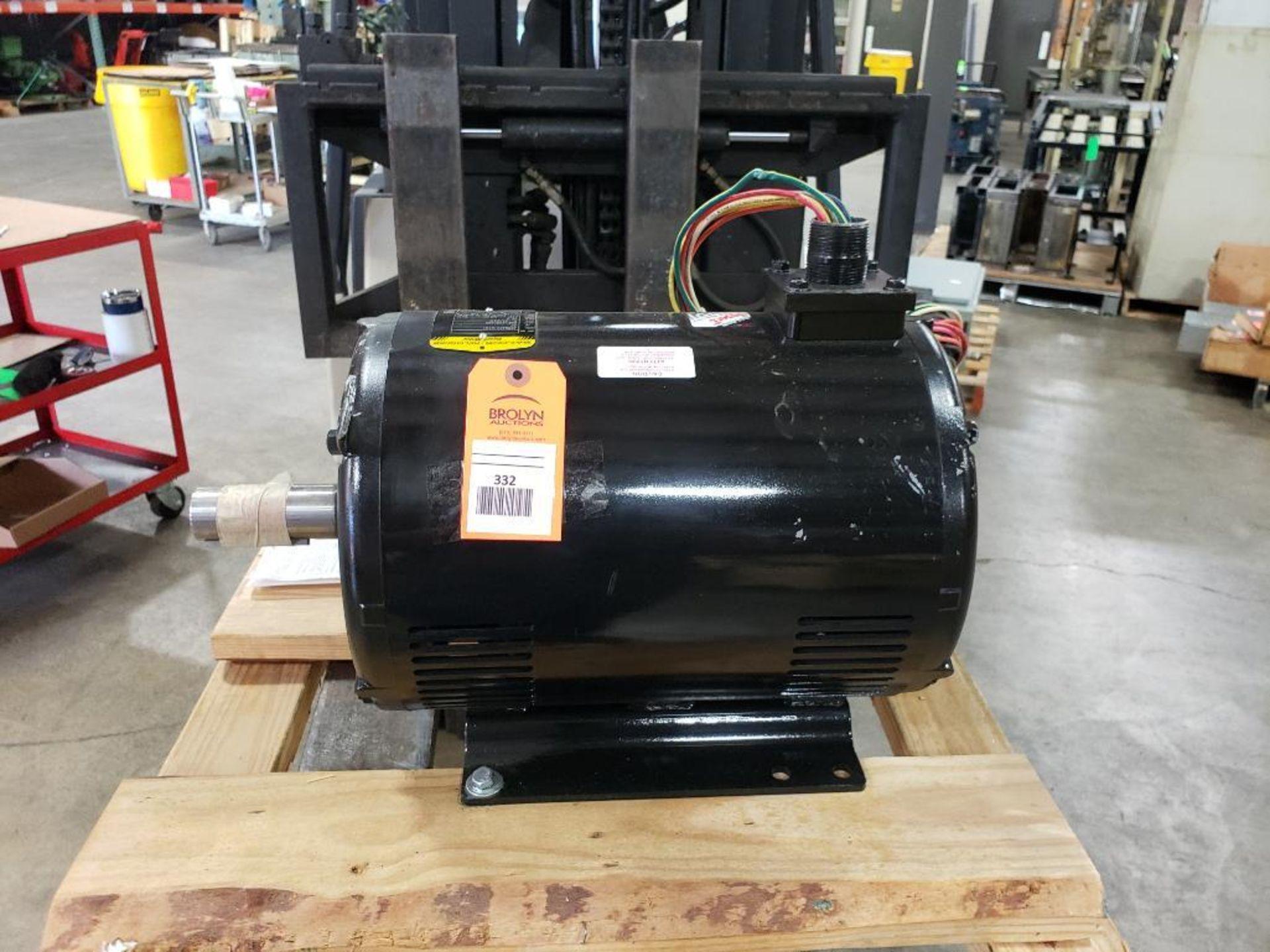 20HP Baldor Reliance 3PH SuperE Motor. 39R046X101G1. 208-230/460V, 3510RPM, 254T-Frame.