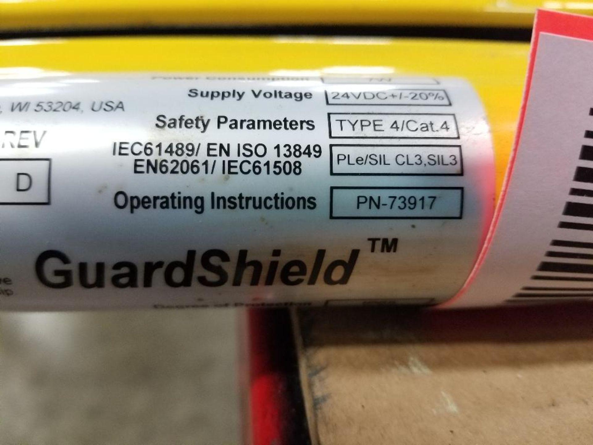 Allen Bradley Light curtain transmitter / receiver set. GuardMaster GuardShield T4J440YD 4K0AM1EF. - Image 22 of 23