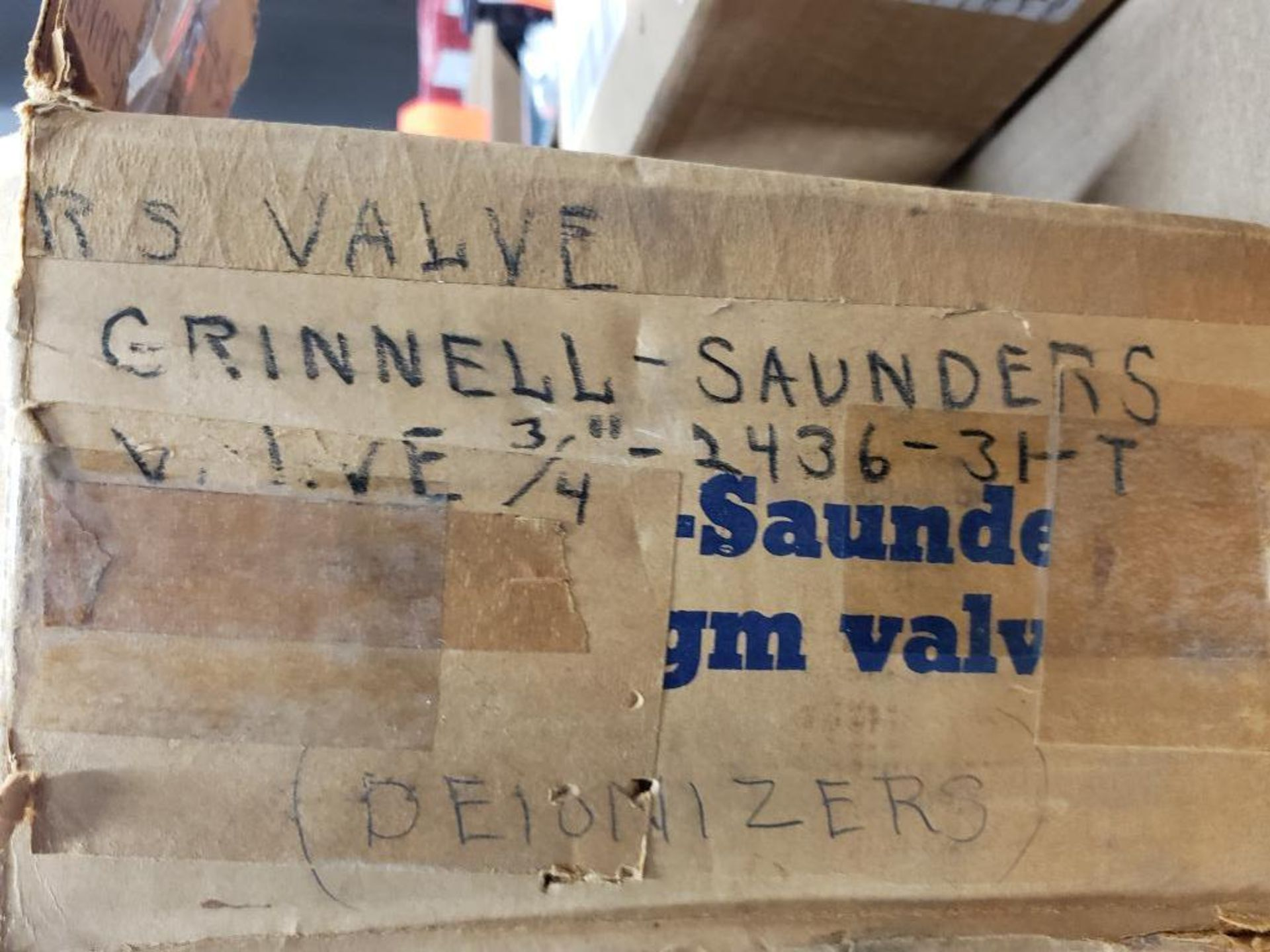 """Grinnell Air motor 32513. 3/4""""-Valve. - Image 5 of 8"""