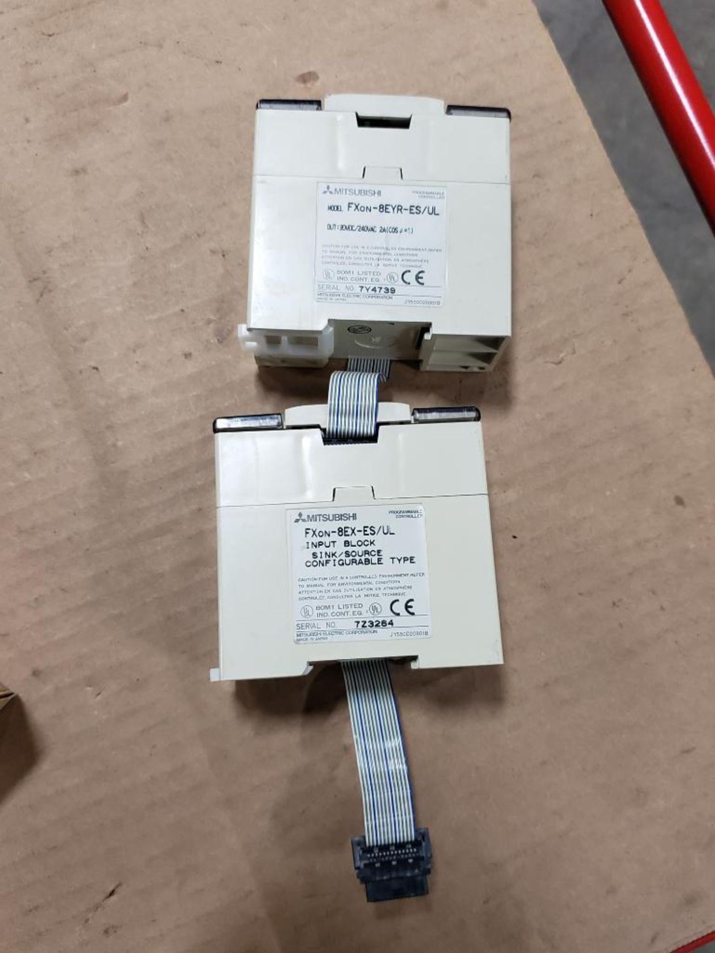 Assorted Mitsubishi electrical. MELSEC FXon-60MR0DS, FXon-8EYR-ES. - Image 10 of 10
