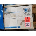Qty 3 - 10FT US Tsubaki RS100 Roller Chain. New in Box.