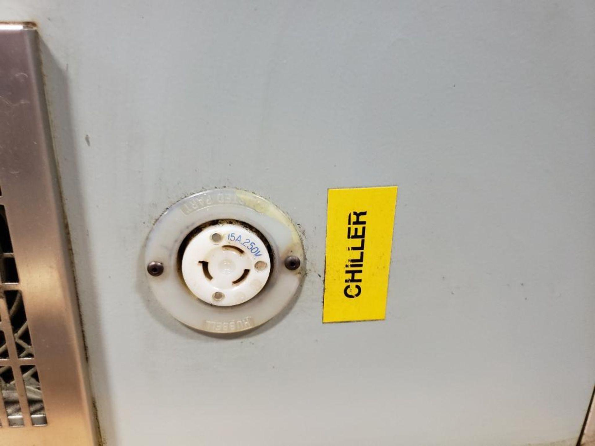 Chiller control cabinet. Hoffman enclosure, Cutler Hammer AF93AG0B007D drive, Allen Bradley drive. - Image 6 of 35