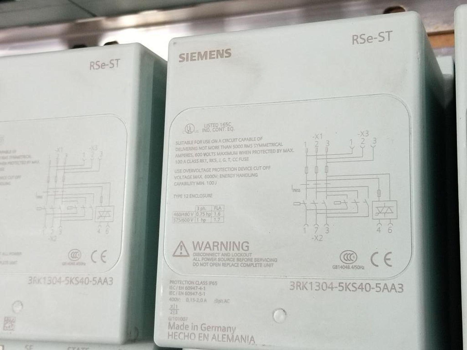 Siemens RSe-ST Reversing starter, DSe-ST Disconnect module flow control line. - Image 4 of 9