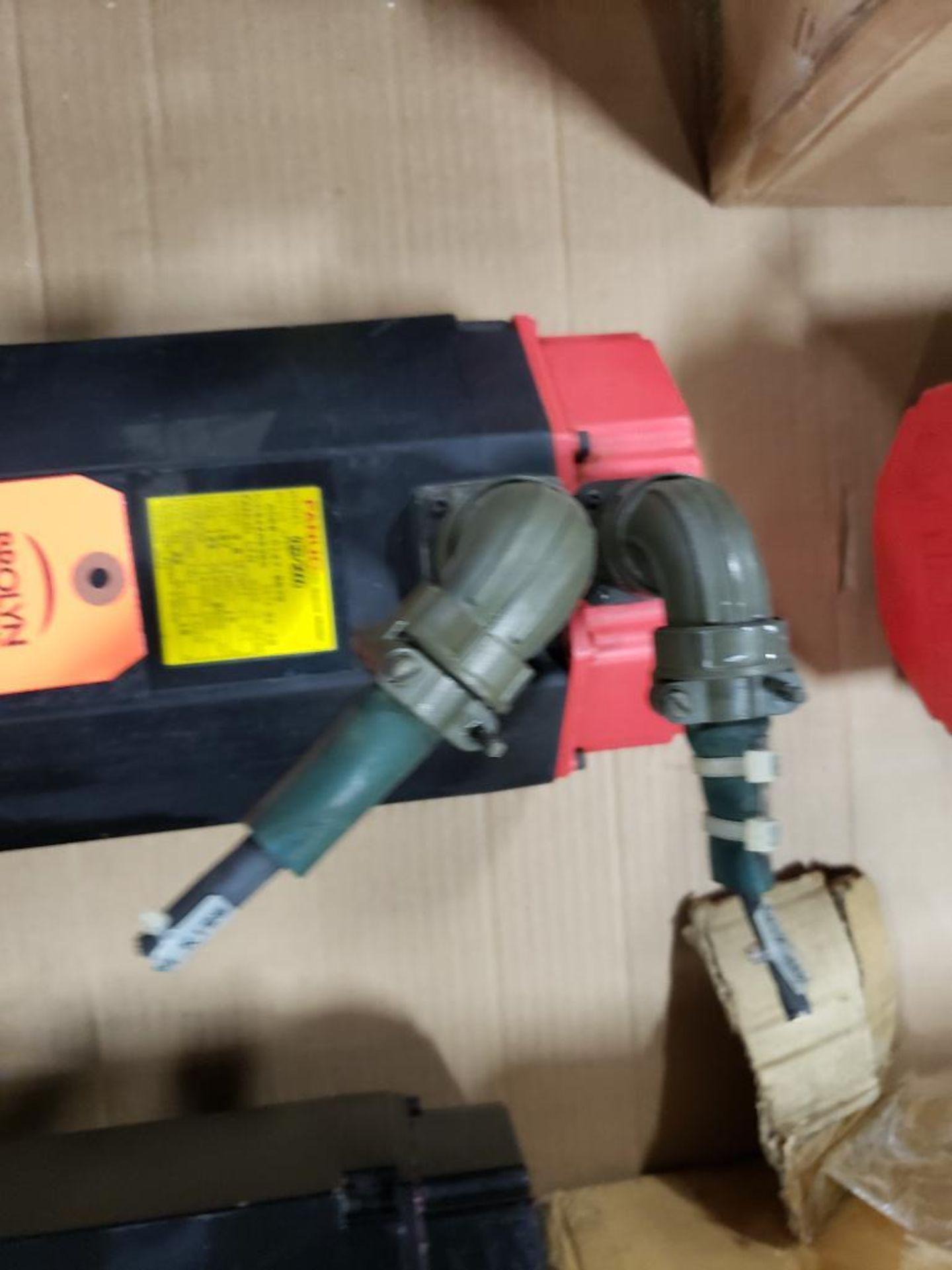 3.8kW GE Fanuc AC Servo Motor A06B-0147-B675. 157V, 2000RPM, 3PH. - Image 3 of 5