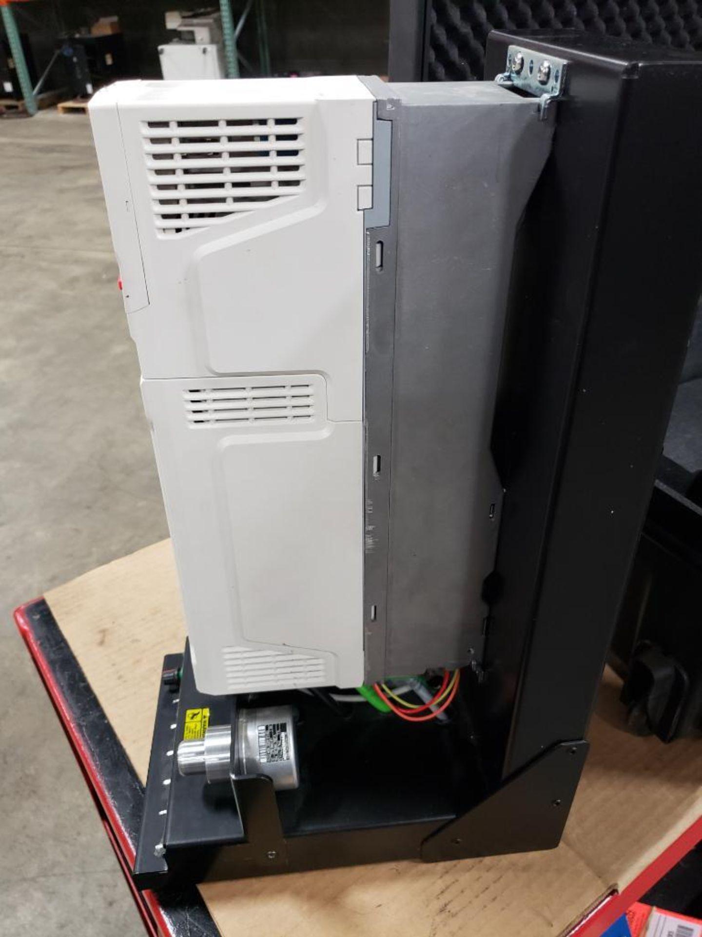 Travel test diagnostic Emerson drive unit. Emerson control Techniques DCM700. Unidrive M701. - Image 20 of 21