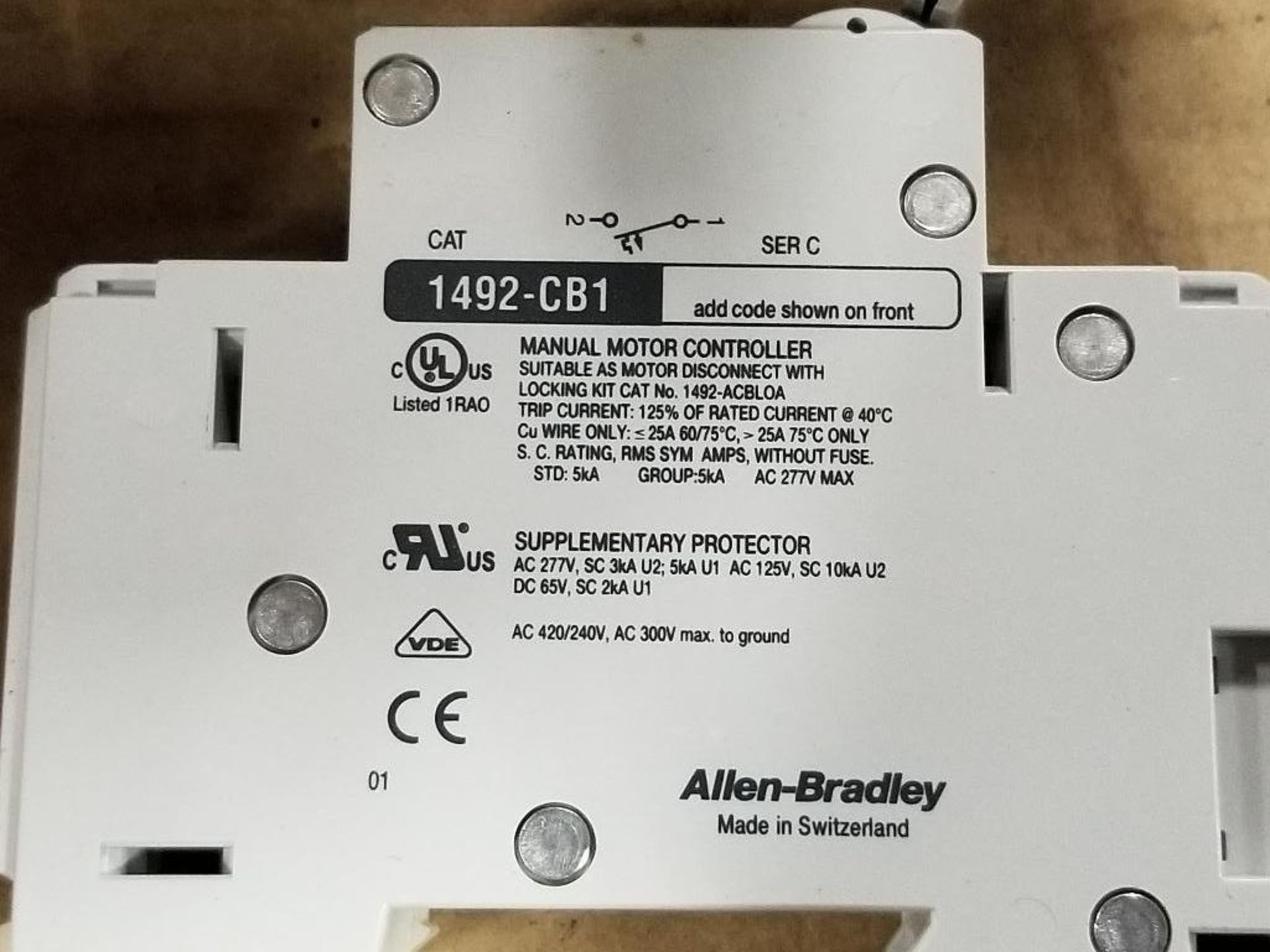 Assorted electrical fuse holder and circuit breaker. Allen Bradley, ABB, Phoenix Contact. - Image 5 of 7