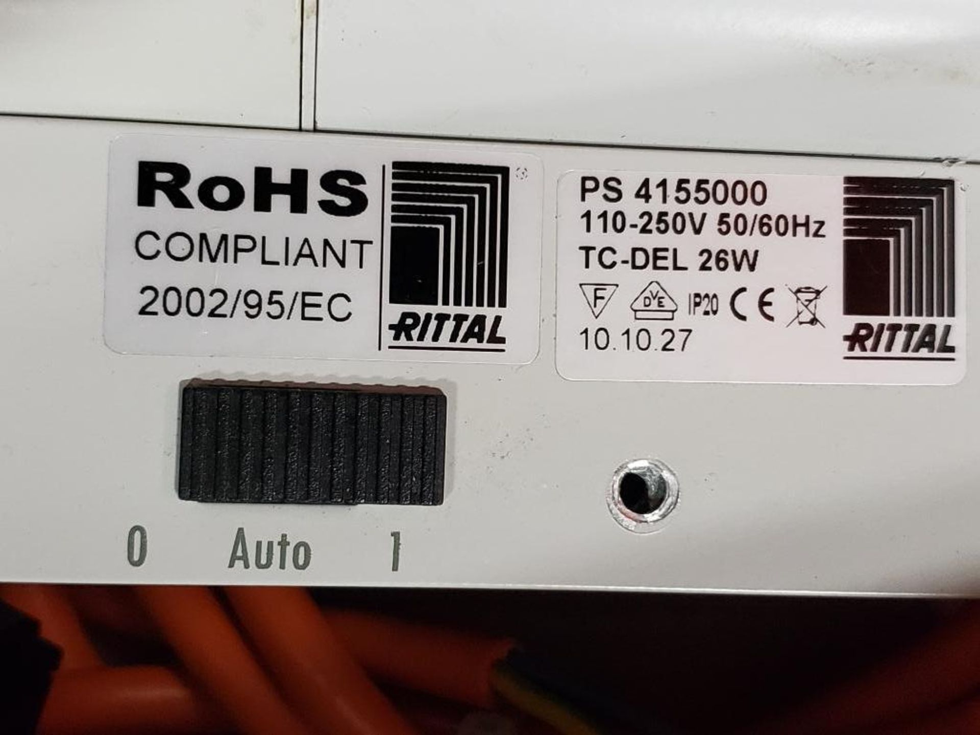 Rittal PS-4155000 Universal cabinet light with motion detector. Cord included. - Image 2 of 2