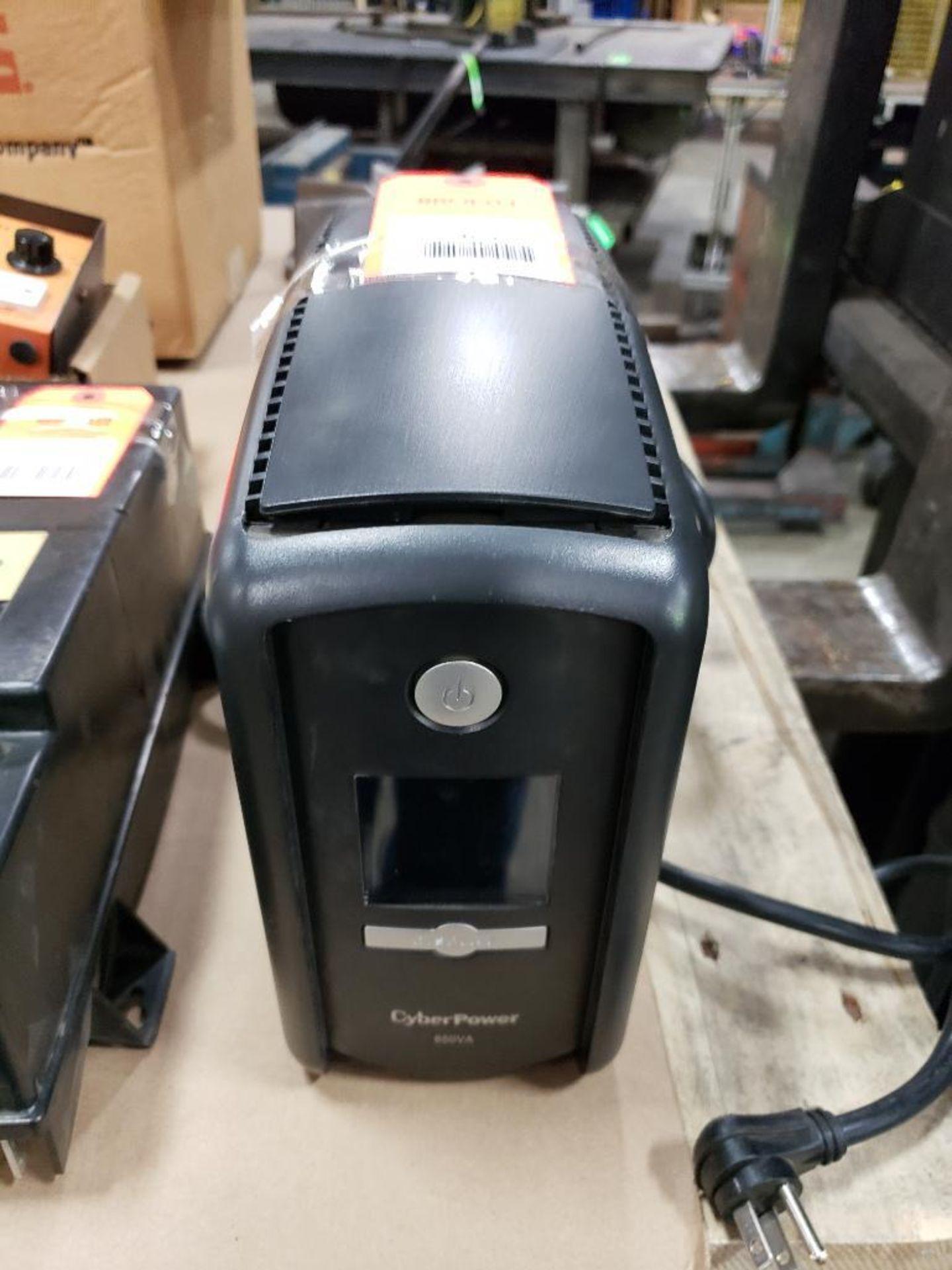 CyberPower CP850AVRLCD intelligent LCD power supply.