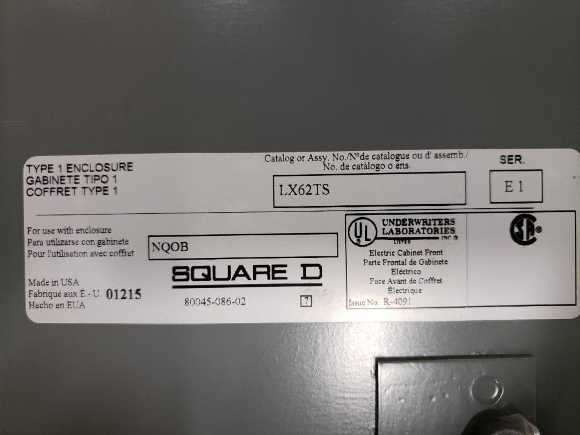 Square-D LX62TS Type-1 Enclosure. - Image 2 of 11
