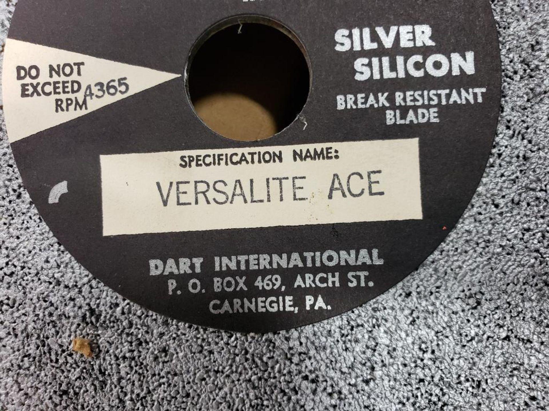 Dart International Silver Silicon break resistant grinding wheels. Versalite Ace. - Image 3 of 4