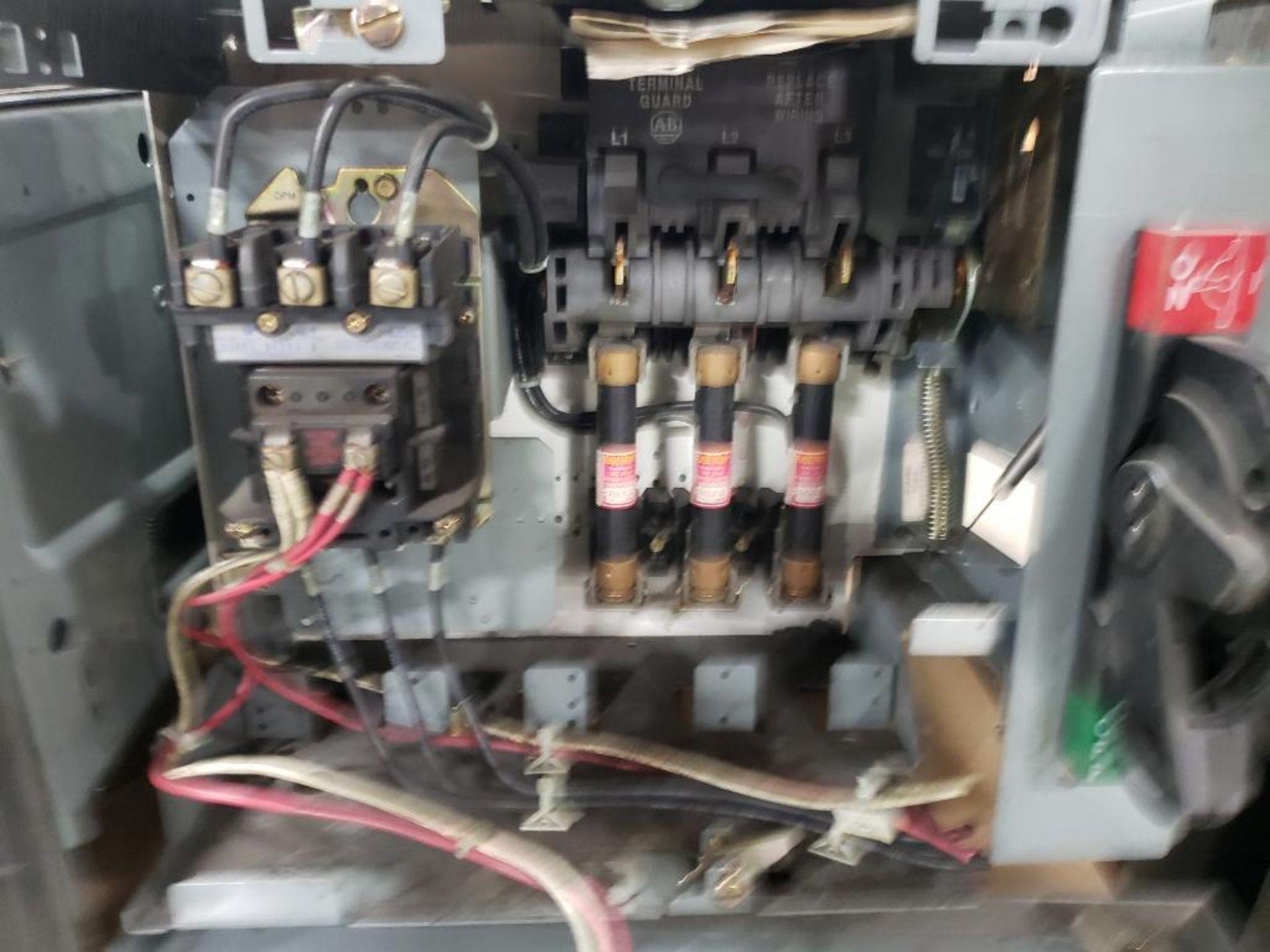 Qty 3 - Allen Bradley Motor Control bucket. 211A-B080-48-24R-41-98. - Image 4 of 9