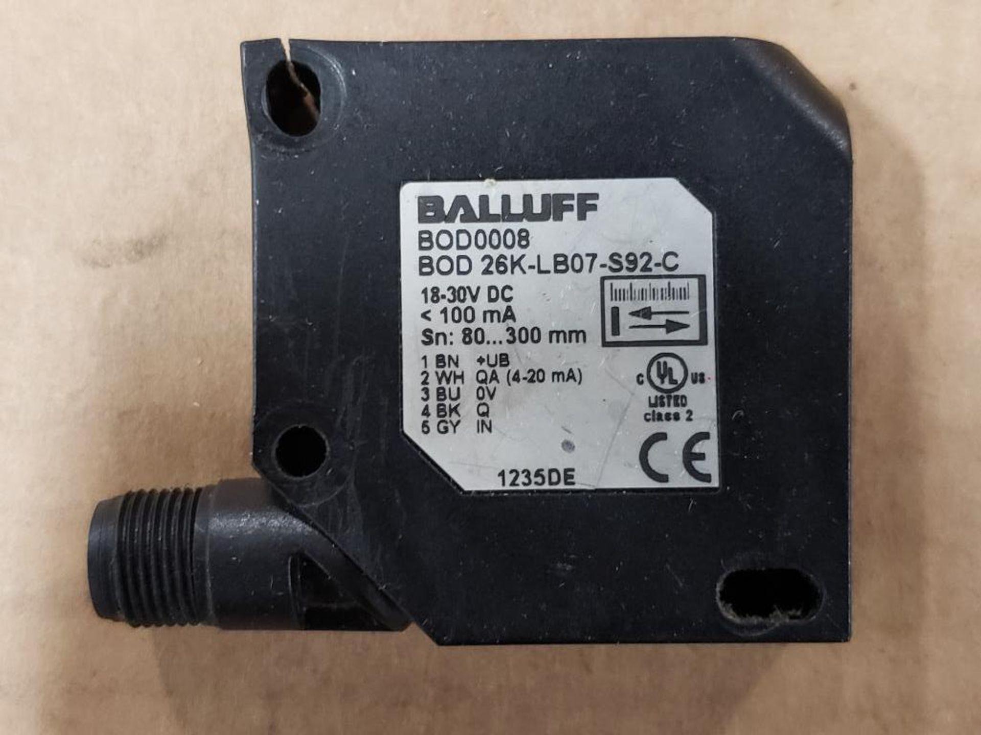 Qty 3 - Balluff BOD0008 BOD 26K-LB07-S92-C Sensor. - Image 2 of 10