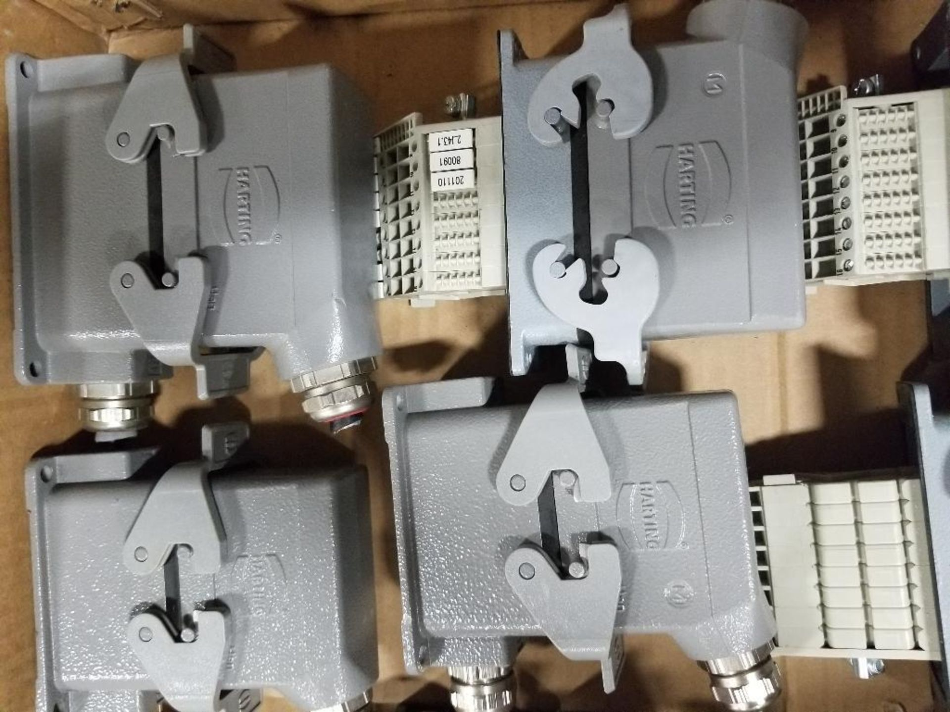 Qty 16 - Harting connection plugs. - Image 5 of 5