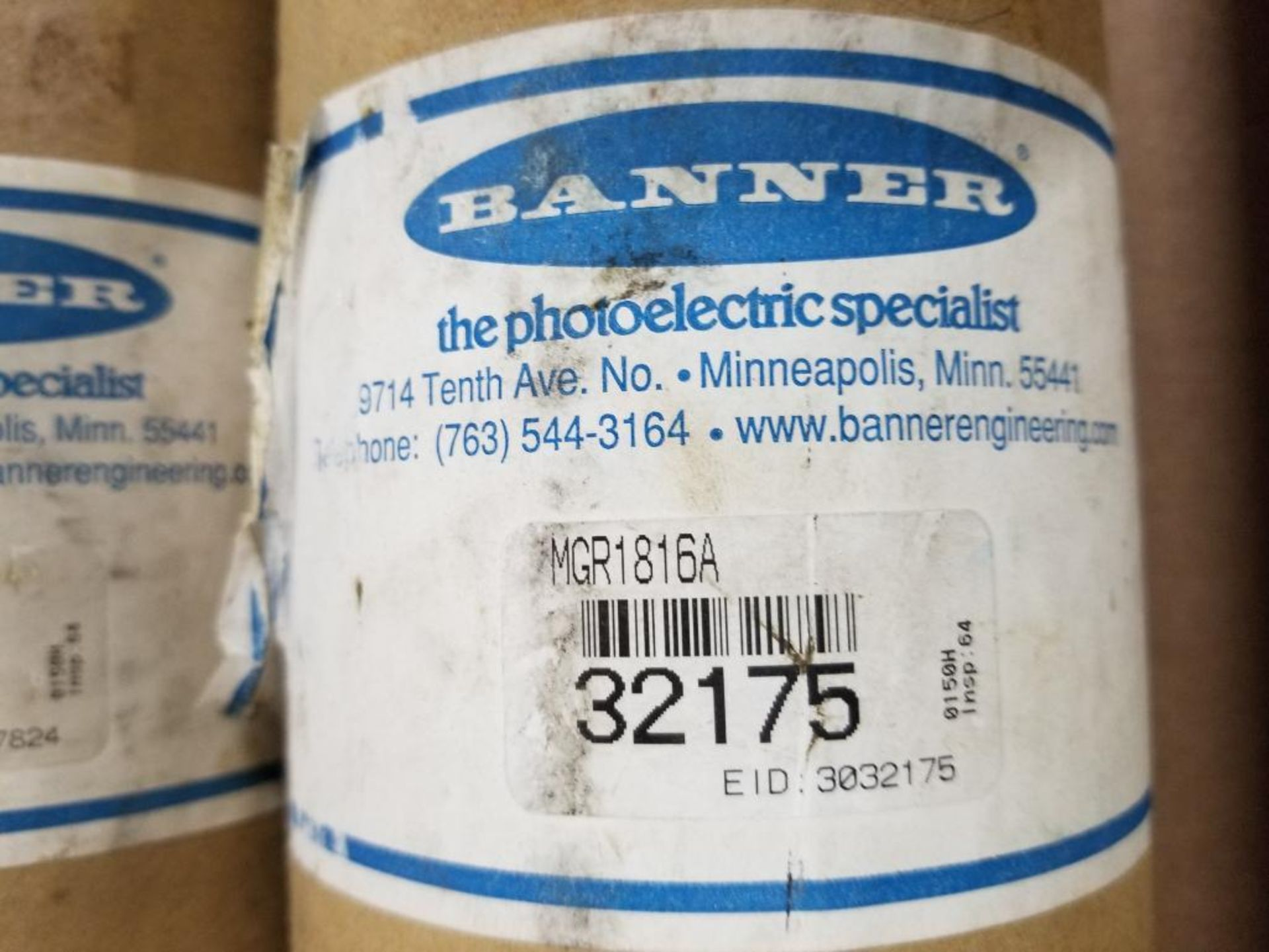 Banner Light curtain transmitter / receiver set. MGE1816A 27824, MGR1816A 32175. - Image 5 of 5