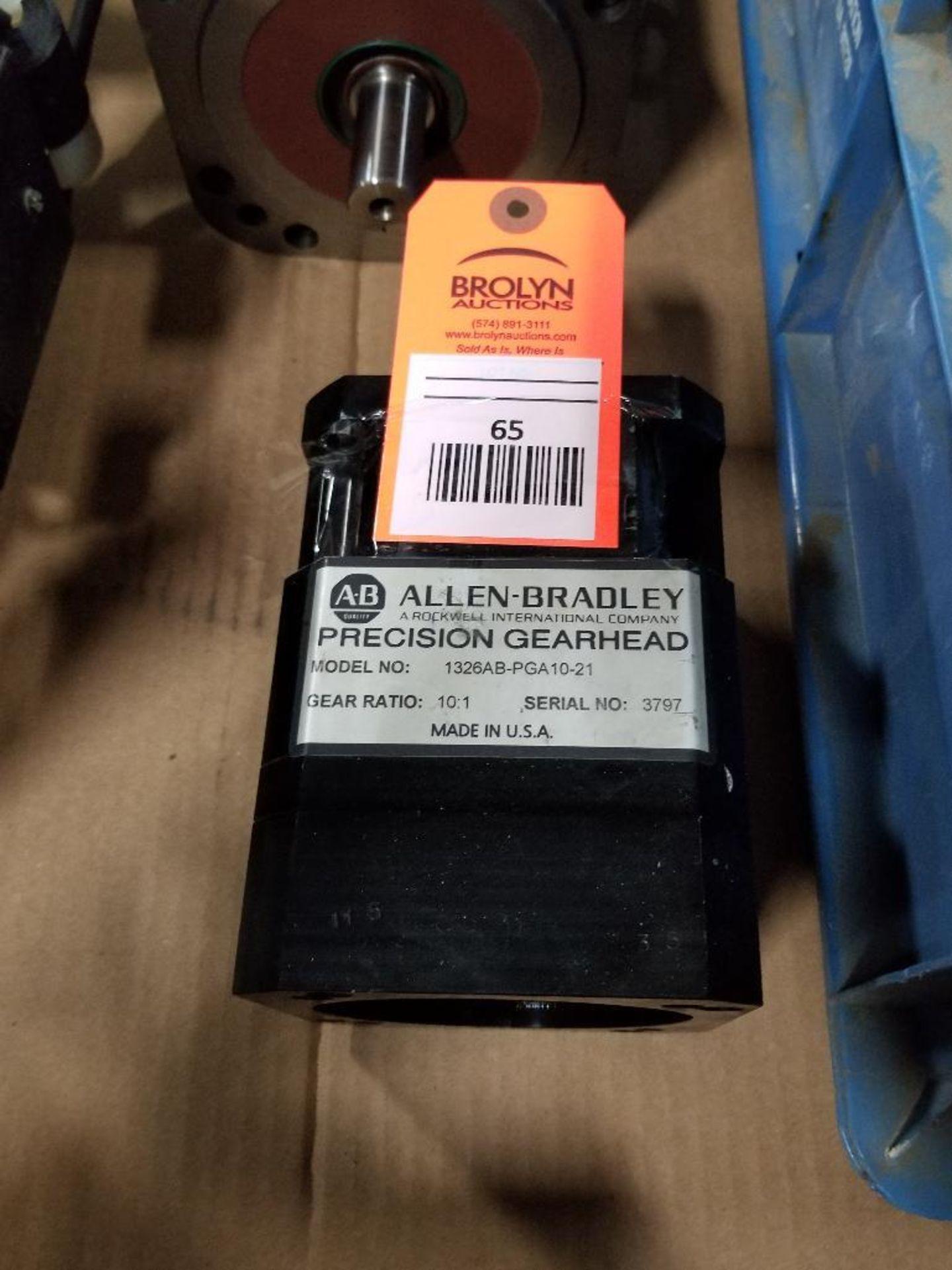 Allen Bradley 1326AB-PGA10-21 Precision Gearhead. 10:1-Raito, Made in USA.