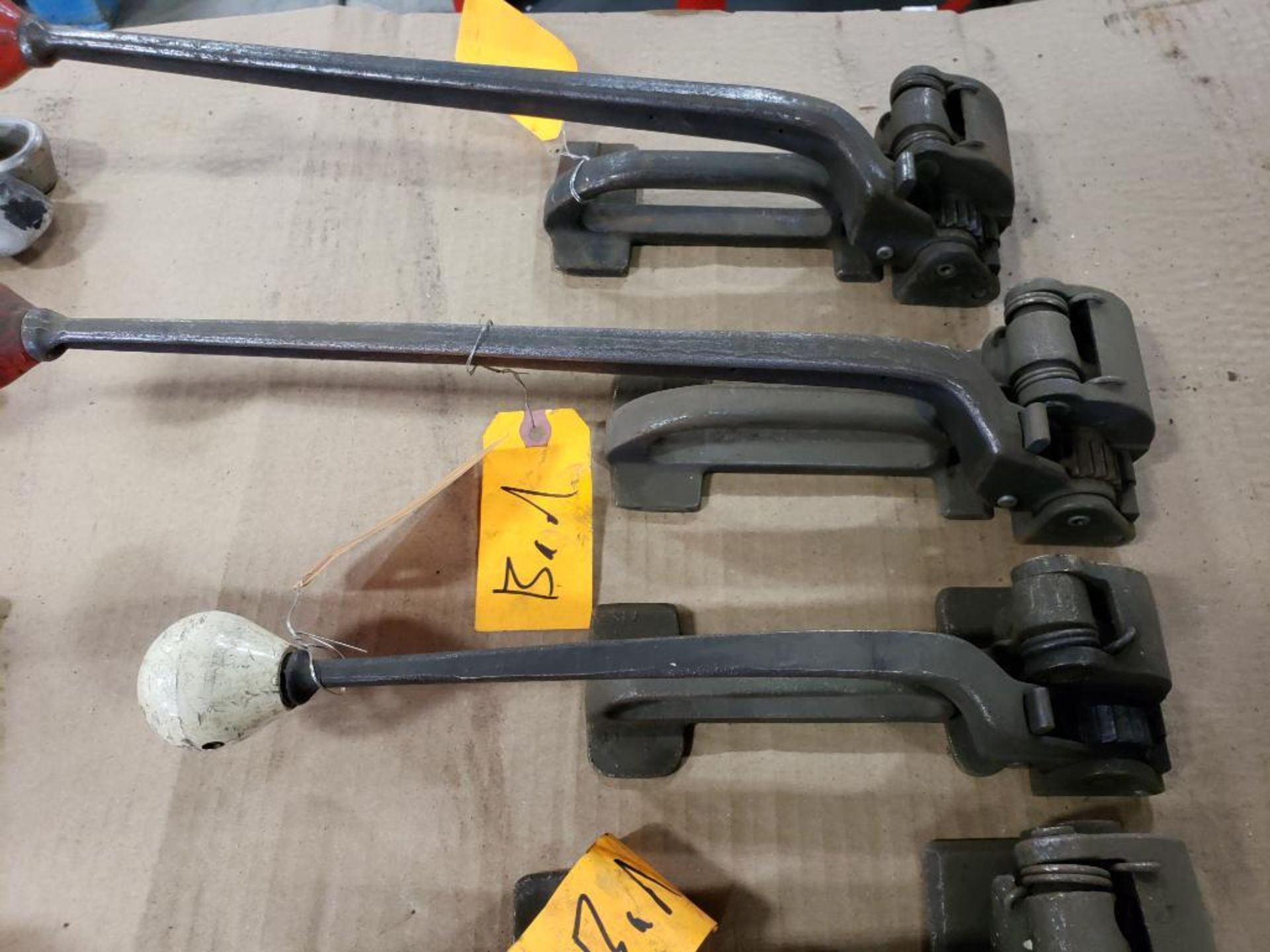 Assorted banding tools for parts or repair. - Image 8 of 9