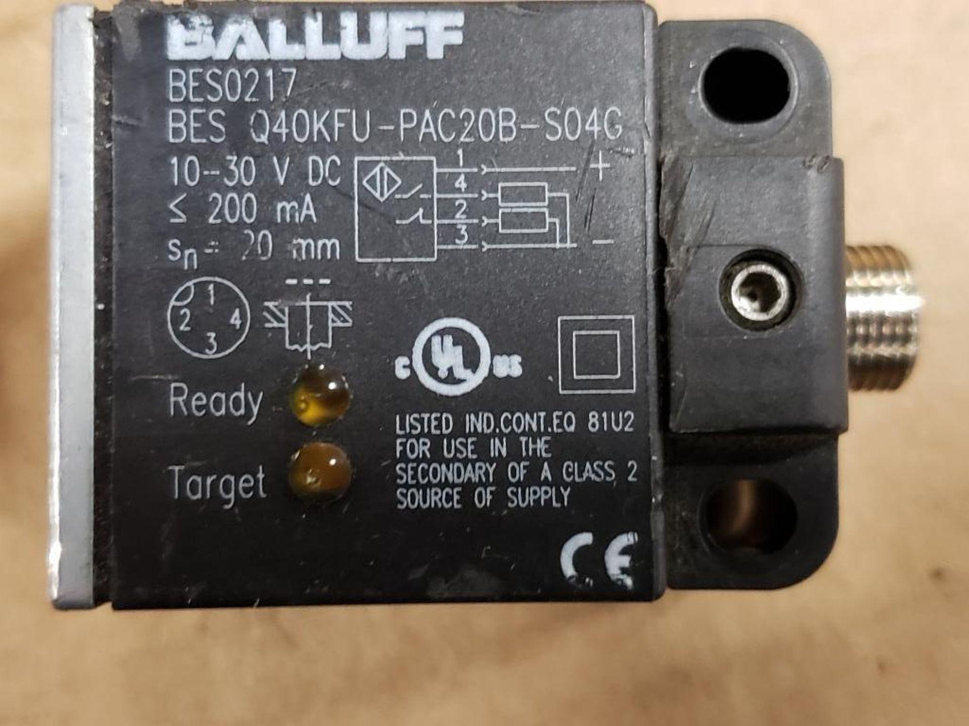 Qty 3 - Assorted electrical sensor. Balluff, IFM. - Image 3 of 5