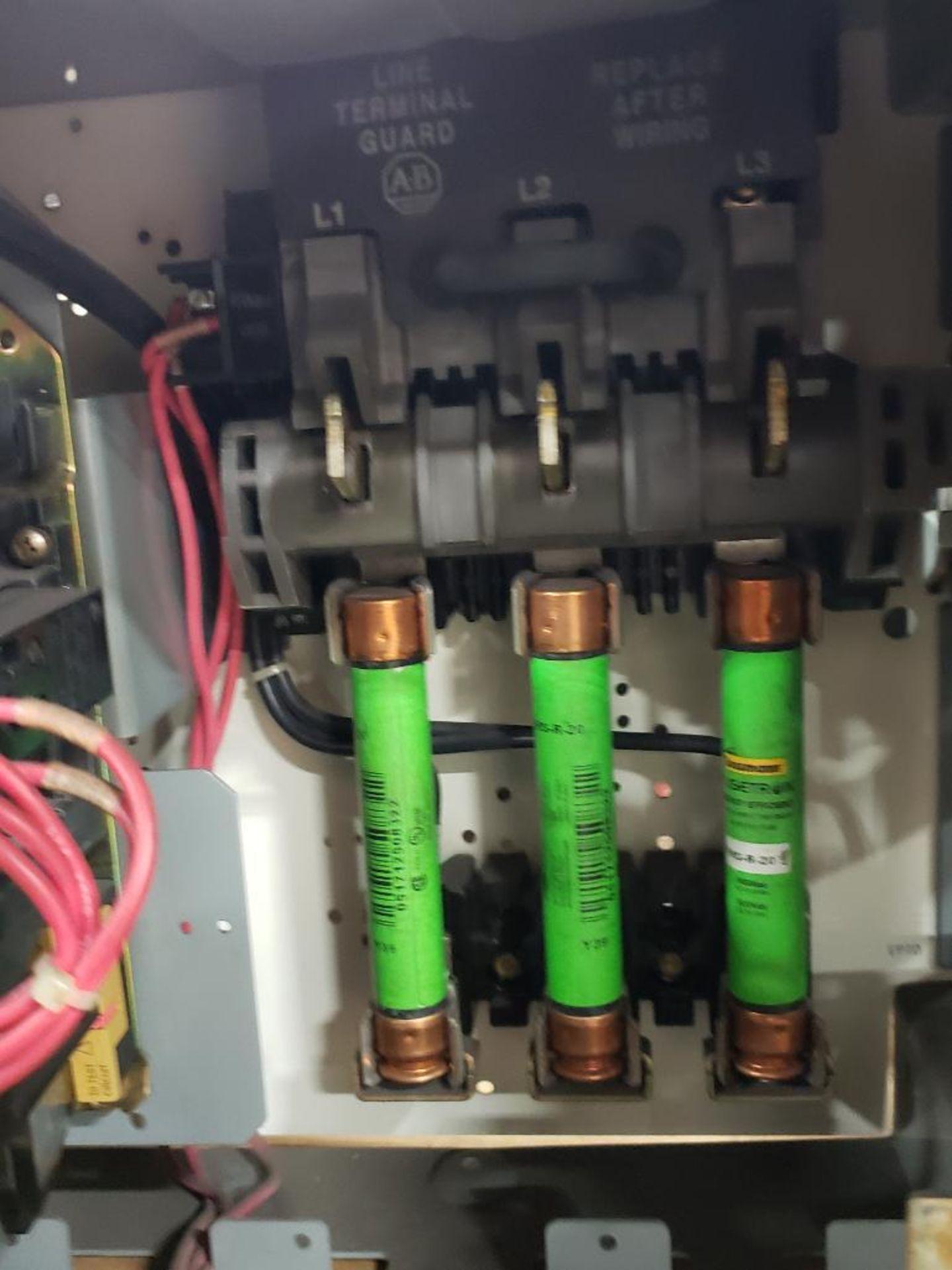 Qty 3 - Allen Bradley Motor Control bucket. 211A-B080-48-24R-41-98. - Image 5 of 6