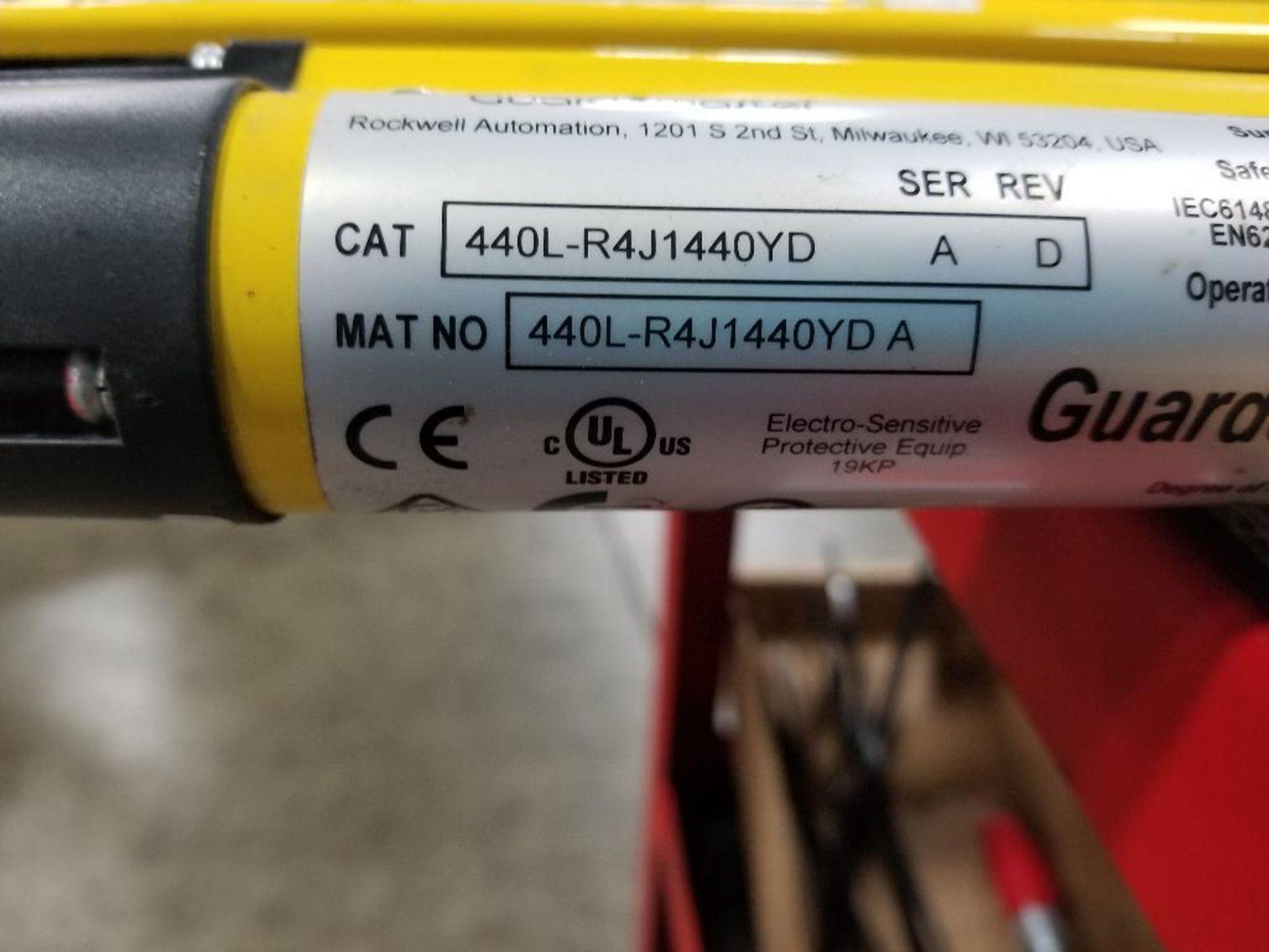 Allen Bradley Light curtain transmitter / receiver set. GuardMaster GuardShield T4J440YD 4K0AM1EF. - Image 21 of 23