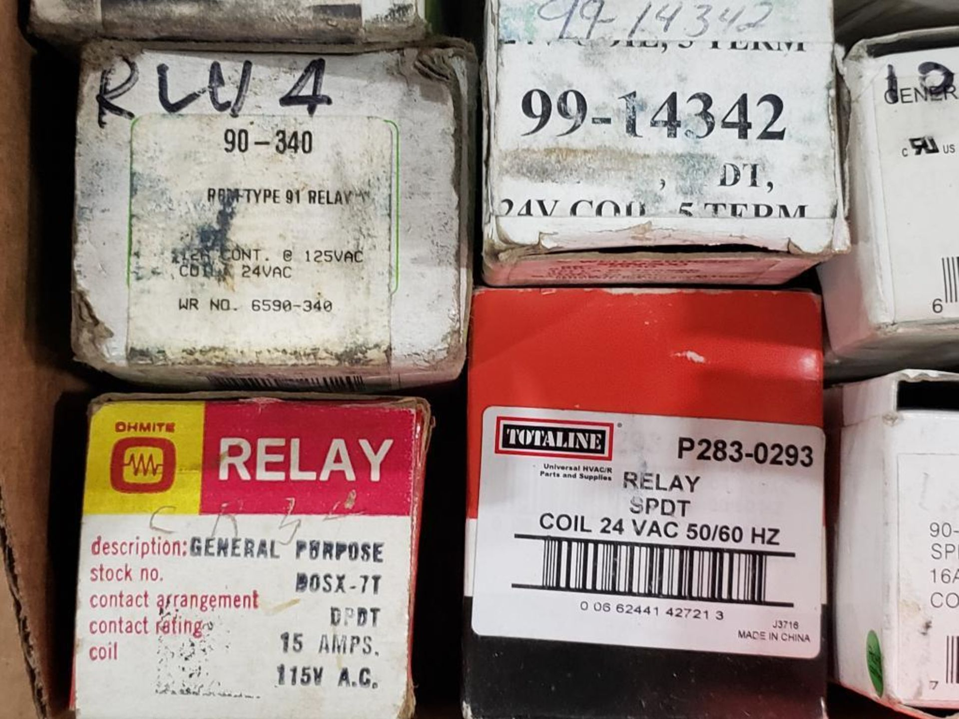 Assorted electrical relays. Hammond, ServiceFirst, White Rogers. - Image 2 of 8