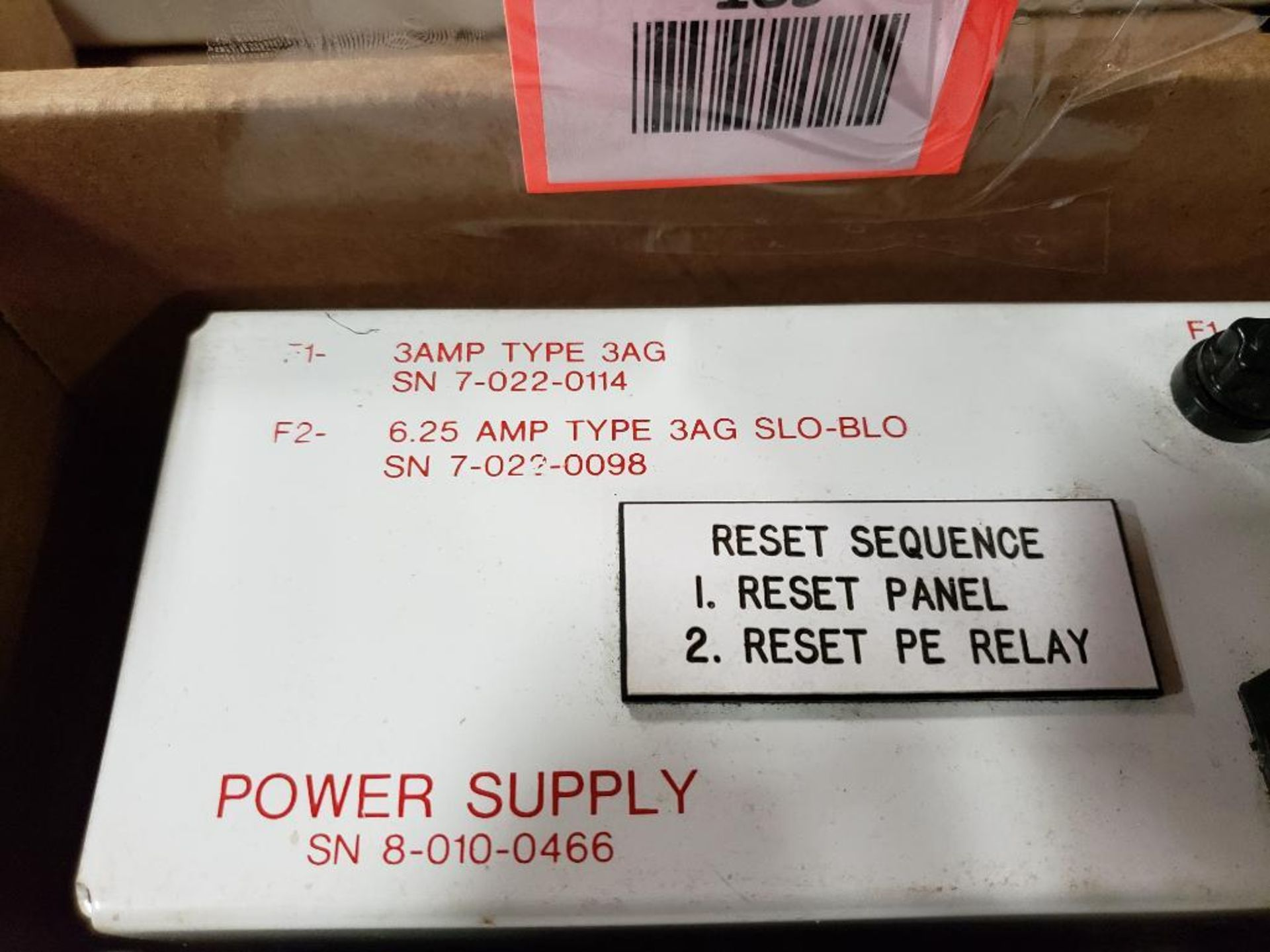 Qty 3 - 8-010-0466 power supply. - Image 8 of 8