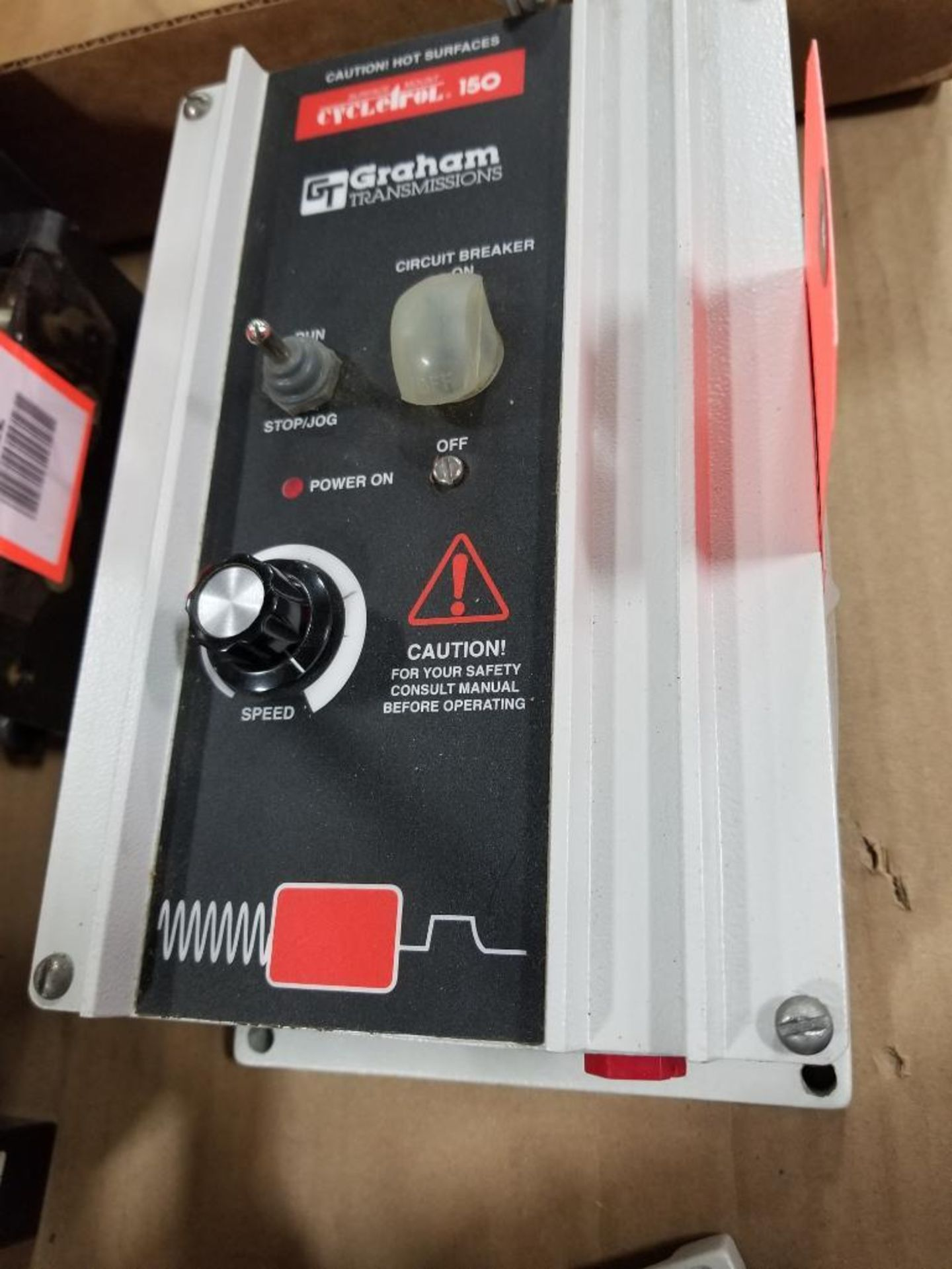Graham Transmissions Cycletrol 150 DC motor controller. 176B6003.