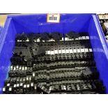 Large Qty of assorted wire connectors.