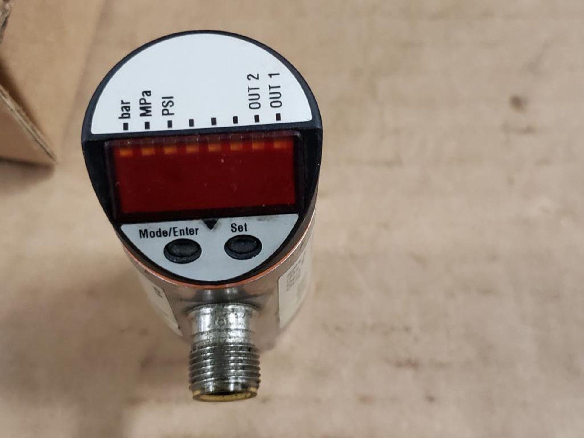 Qty 2 - IFM PN7004 Pressure switch sensor. - Image 3 of 3