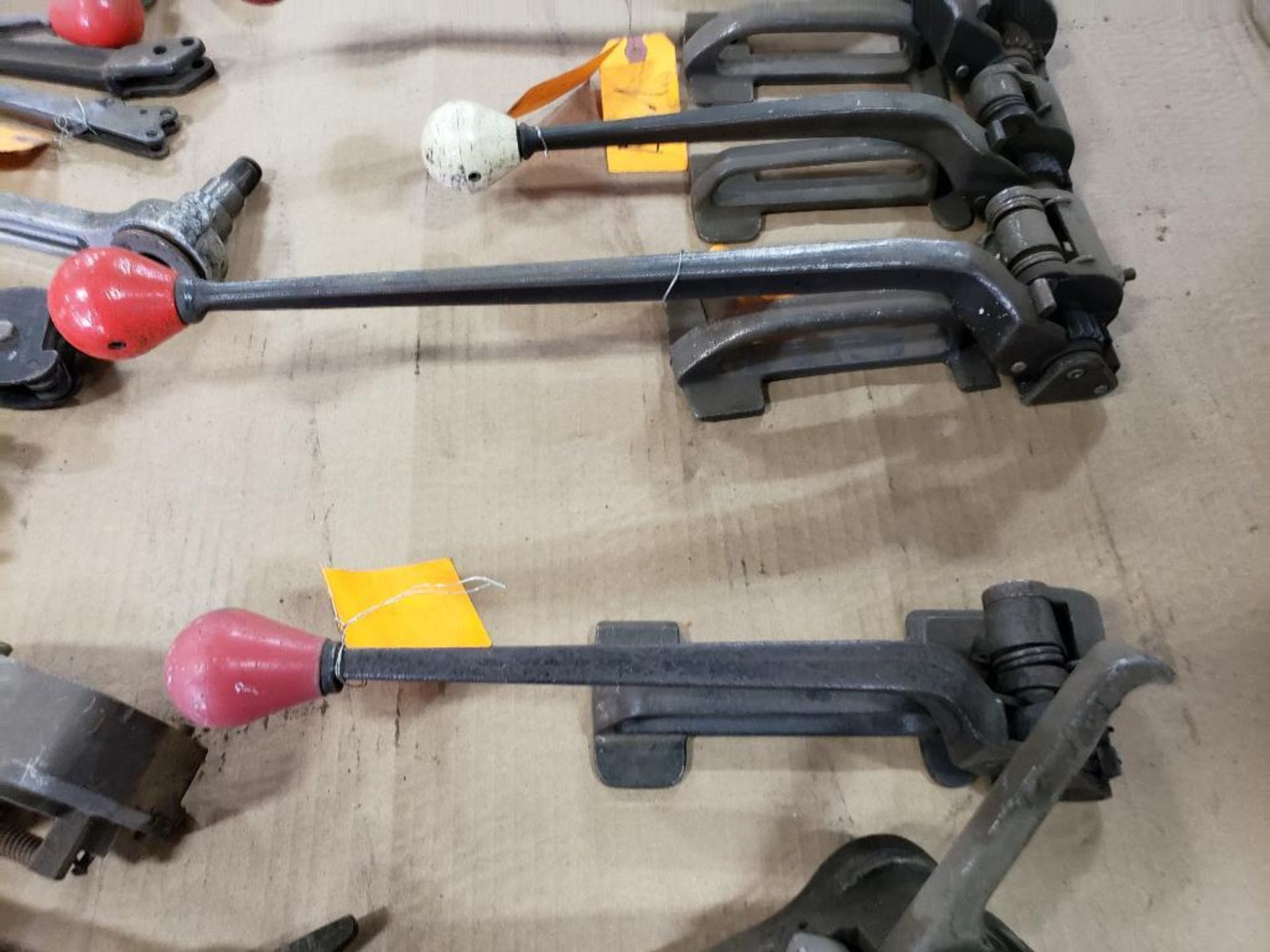 Assorted banding tools for parts or repair. - Image 6 of 9