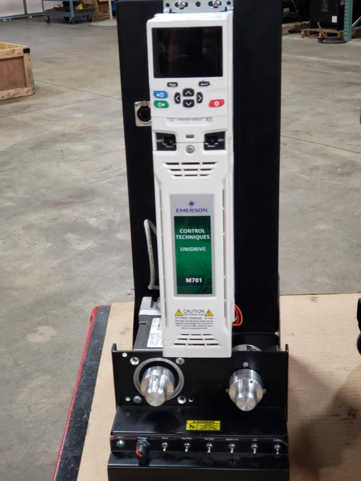 Travel test diagnostic Emerson drive unit. Emerson control Techniques DCM700. Unidrive M701. - Image 7 of 21