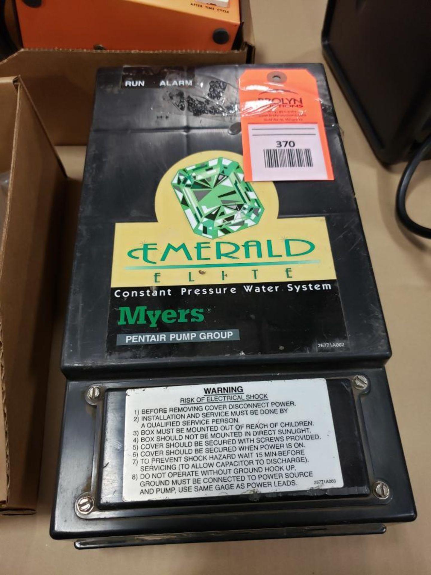 Emerald Elite Myers pentair pump group 26493D001. GEM10-CB.