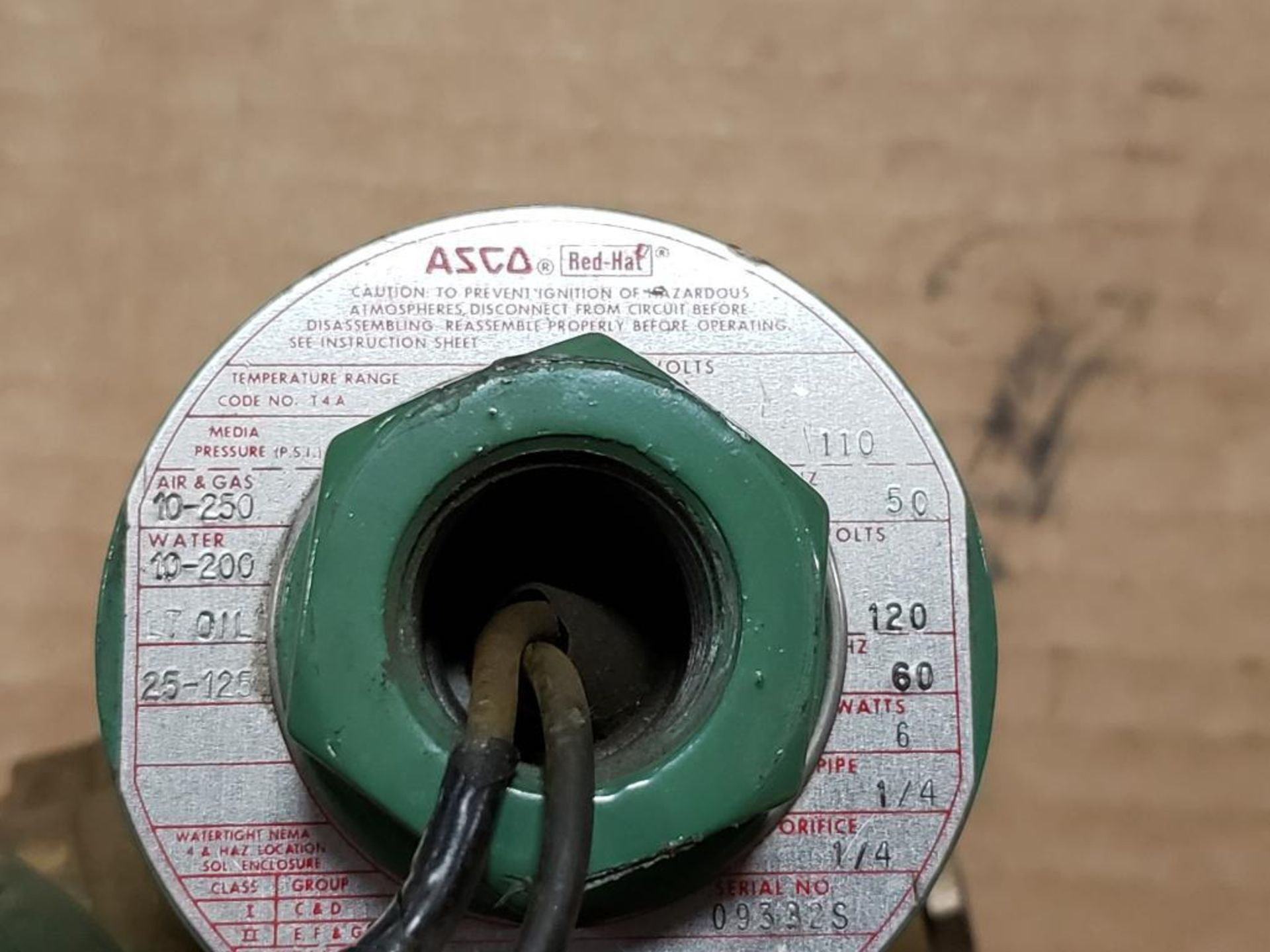 Qty 6 - Assorted ASCO solenoid coil. - Image 3 of 8