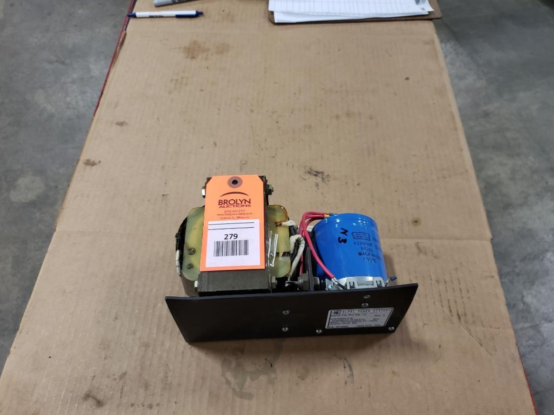 Elpac Power Systems BFS500-24 Power supply.