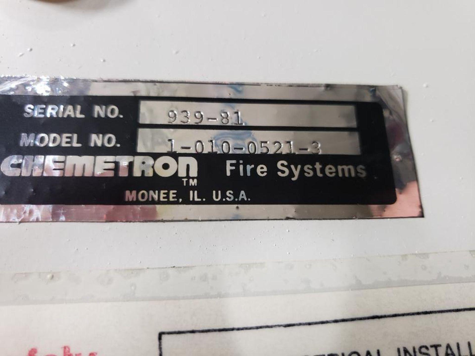 Chemetron Fire System control unit 1-010-0521-3. - Image 14 of 14