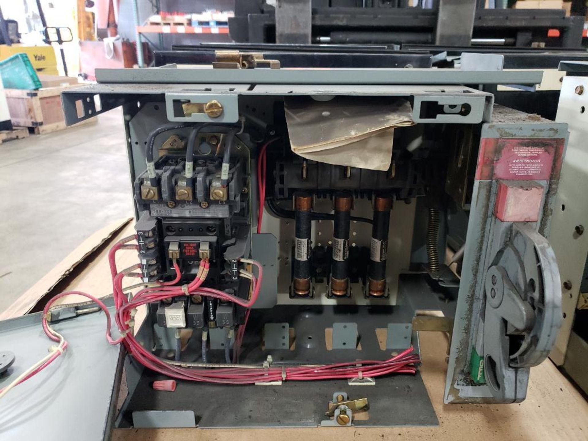 Qty 3 - Allen Bradley Motor Control bucket. 211A-B080-48-24R-41-98. - Image 4 of 8