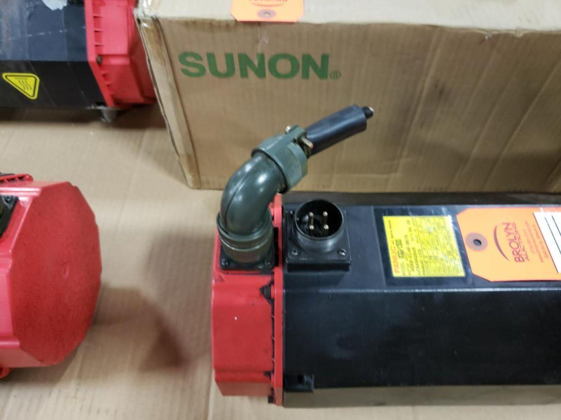 3.0kW GE Fanuc AC Servo Motor A06B-0146-B675. 179V, 1500RPM, 3PH. - Image 3 of 6